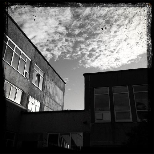 Urban Geometry Silhouette