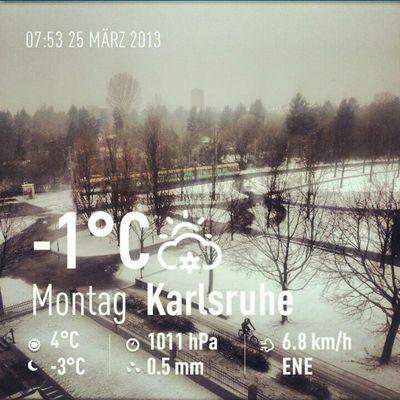 Wtf wir haben Frühling Weather Instaweather Instaweatherpro Androidonly androidnesia instagood Karlsruhe Deutschland