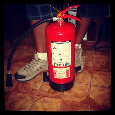 Clases de como usar un extintor ¿? Job Oficc Extinguisher Fire firefighter