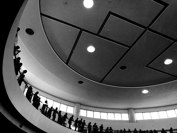 negative space Streetphotography Bnw_collection Bnwstreetphotography Illuminated Ceiling Architectural Design Convention Center Semi-circle