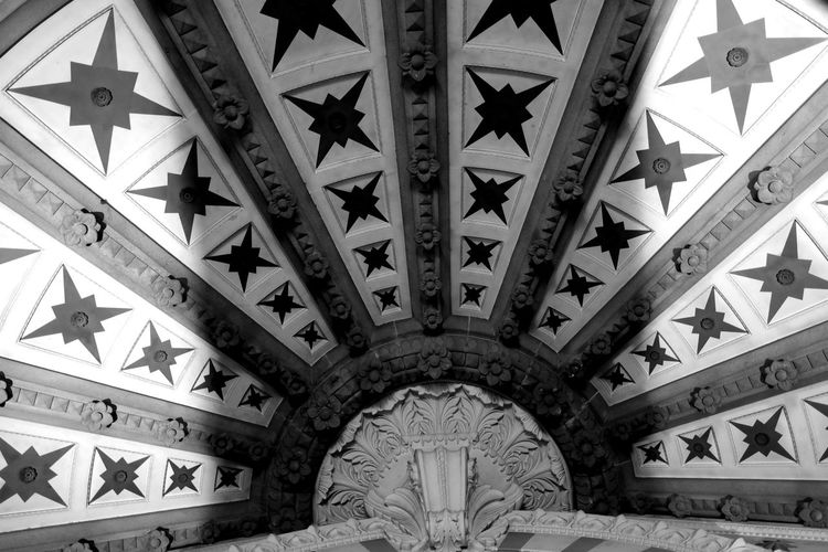 Architectural Feature Architecture Basilica Black And White Photography Blackandwhite Blackandwhite Photography Built Structure Cathedral Catholic Church Ceiling Church Complexity Eye4photography  EyeEm Best Shots EyeEm Gallery EyeEmBestPics Famous Place Fourvière  France Geometric Shape Lyon Notre-Dame Pattern Pattern Pieces Tourism