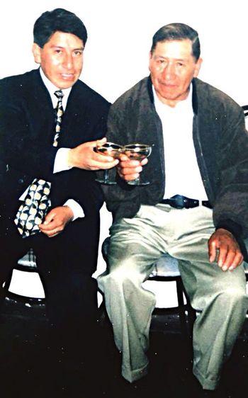Mi hermano con mi viejito del alma First Eyeem Photo