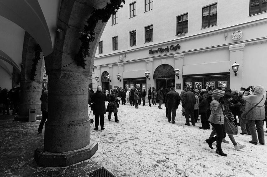 Munich München EyeEm Munich Sightseeing Hard Rock Cafe Black & White Blackandwhite Schwarzweiß