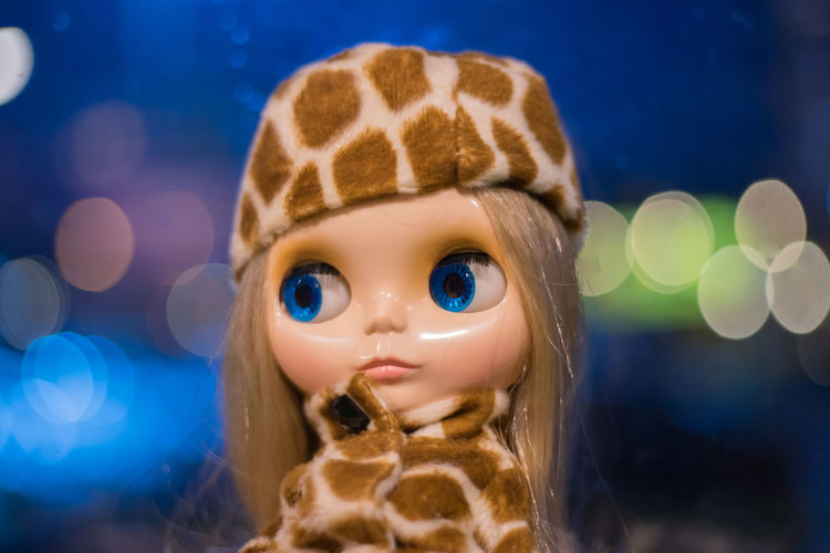 Blythe doll Doll Lovely สวย Blythe Doll ตุ๊กตาขนาดเล็ก ตุ๊กตา Adult Space Close-up Pets Beauty Females Night People One Person Friendship Girls Childhood Indoors  Child Children Only Indoors  Backgrounds Iris - Eye Hazel Eyes  Eye Eyebrow Blue Eyes Eye Color Eyelash