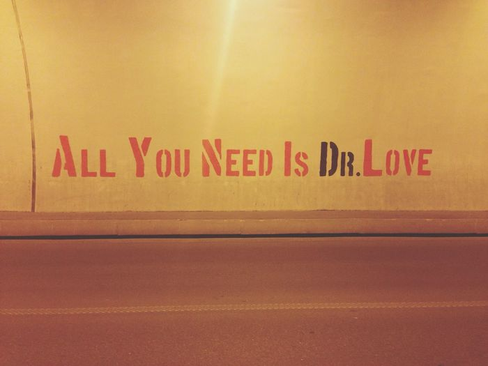 Love All You Need Is Love Tbilisi Art Is Everywhere
