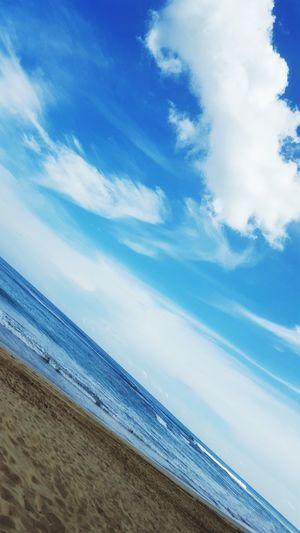 Like water in a jar Ocean Beach Water Cloud - Sky Beauty In Nature