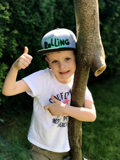 Boy in a cap