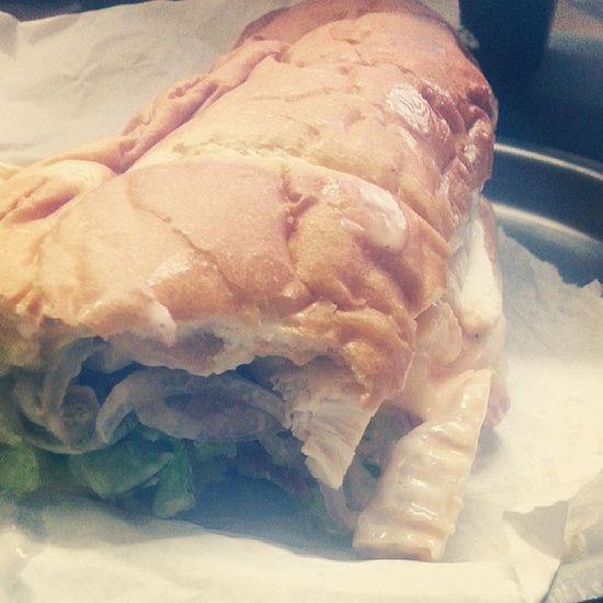 Roasted Chicken Subway Yummmmm
