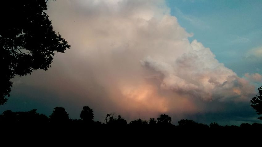 The Purist Calm Before The Storm Eye Am Nature Stormembracing Skylovers Cloudlovers Trees In The Dark Storm Is Coming!