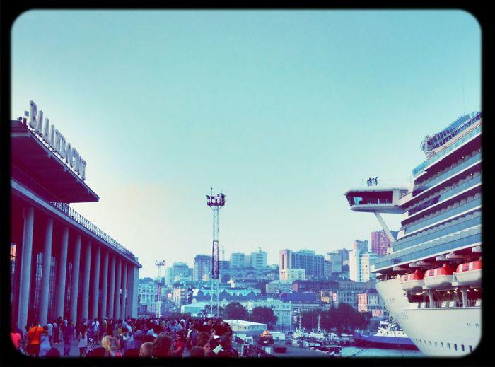 Ship Vladivostok корабль порт владивосток