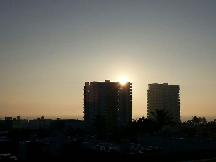 Taking Photos Urban Photography My View Enjoying The View Light And Shadow Morning Sunrise Sunrisephotography Beautiful Sunrise Sunrise Silhouette Gulf Of Mexico Boca Del Rio Veracruz Skylovers Sky And City EyeEm Best Shots - Sunsets + Sunrise Sunrise Reflection Sunrise_Collection
