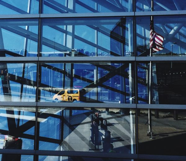 EyeEm Gallery Architectural Detail EyeEmBestPics OpenEdit Architecturelovers Reflection JFK Airport NYTAXI Traveling Home For The Holidays