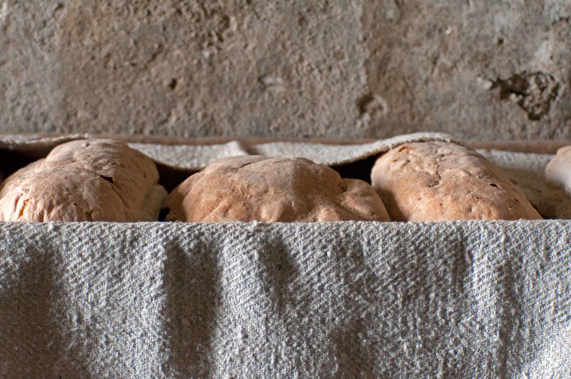 bread enveloped