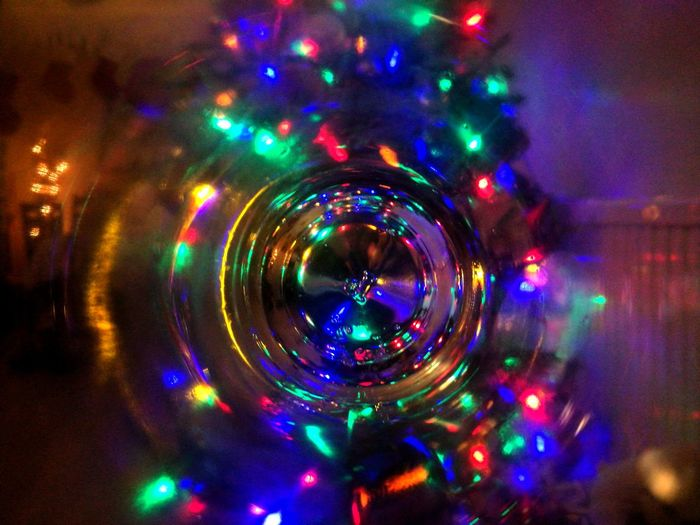 Christmas Vortex Vortex Abstract Photography Christmas Decoration Night No People