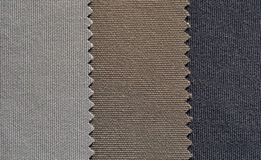 Full frame shot of fabric swatch