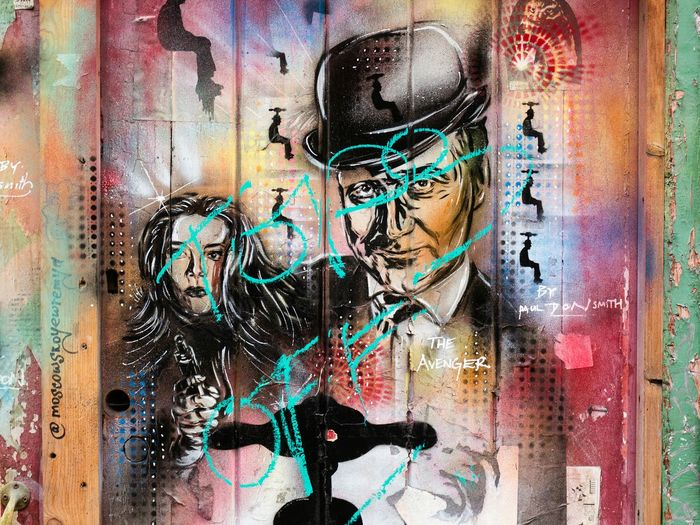 The Avenger by Paul Don Smith Check This Out Streetphotography Street Art Graffiti Art Bricklane Pauldonsmith Avengers Johnsteed