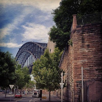 You don't need to capture the entire structure, to be able to appreciate the grandeur of this bridge Harbourbridge Sydney Nsw Seeaustralia RTW Travelling ChasingTheWorld LiveAuthentic Luxe EastCoast PicturePerfect BridgeClimb