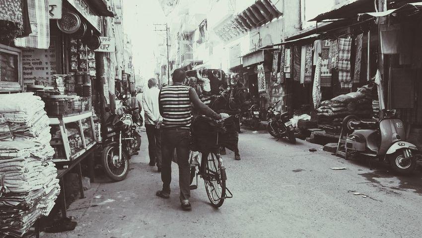 Bicycle Mode Of Transport Jodhpur Rajasthan Sony Men First Eyeem Photo