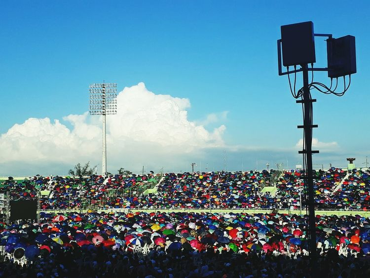 Estadio Sky Arts Culture And Entertainment Day Outdoors Fan - Enthusiast People