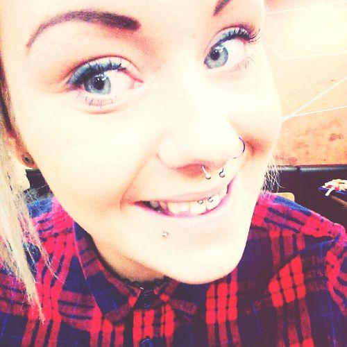 Got a new piercing absolutely love it??? ❤❤❤❤❤ Piercing Newpiercing Pain Neadelland
