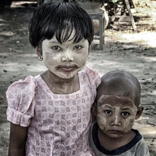 Myanmar Traveling Kids Love