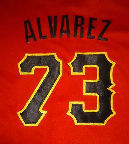 Alvarez 73 Beisbol Softball Piratas