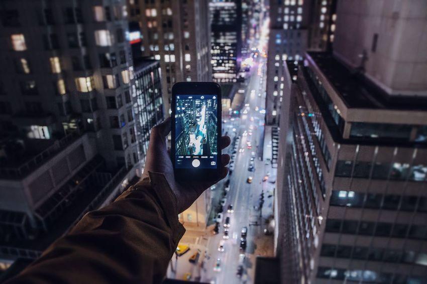 P a r a l l e x Technology Architecture Skyscraper Street Exploration Downtown Toronto 6ix Rooftop Urban Adventure Perspective Nightphotography