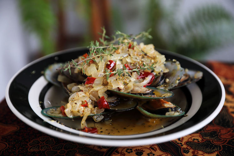 Mussel Food Food And Drink Ready-to-eat Serving Size Healthy Eating Vegetable Meat Meal Seafood