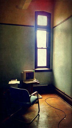 Interior Design Blue Empty Chair Obsessive Edits NEM Architecture Dreaming NEM Derelict