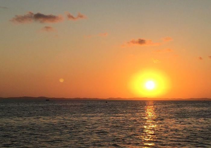 Flare de verão Brasil ♥ Salvador De Bahia Salvador Bahia Bahiadetodosossantos BaiaDeTodosOsSantos Sunset Sunlight Flare Verão VERANO♥ Summertime Summer Views