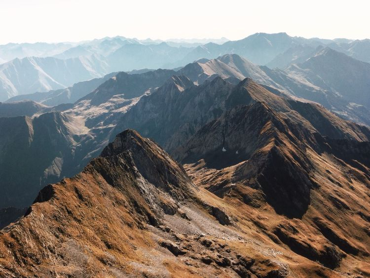 Layers Mountains Nature_collection Nature Pyrenees