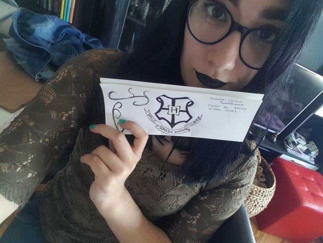 Tumblrgirl Tumblr Girltumblr Fashiongirl  Fashiongirl  Blackhair Girl Lipstick Selfie Make Up Harrypotter Potterhard