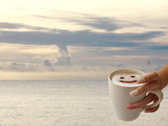 smile coffee on