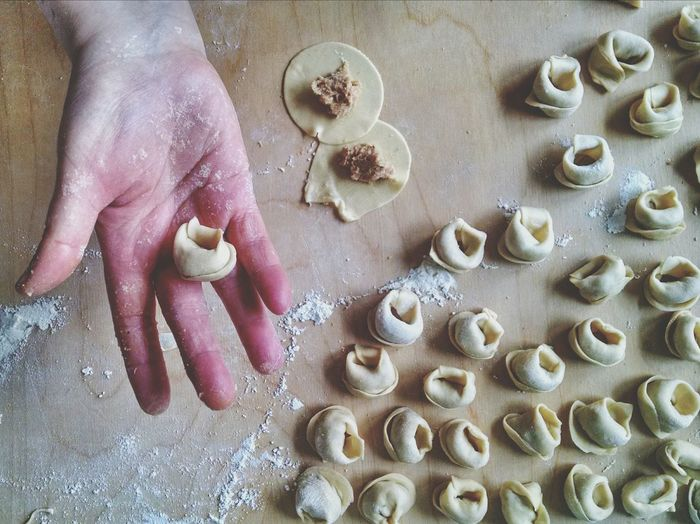 From My Point Of View mom preparing tortellini by hand. In a kitchen in northern Italy Foodporn Italy Make It Yourself What I Value Growing Better My Hobby Food Porn Awards Live To Learn Learn & Shoot: Balancing Elements Original Experiences Picturing Individuality View From Above