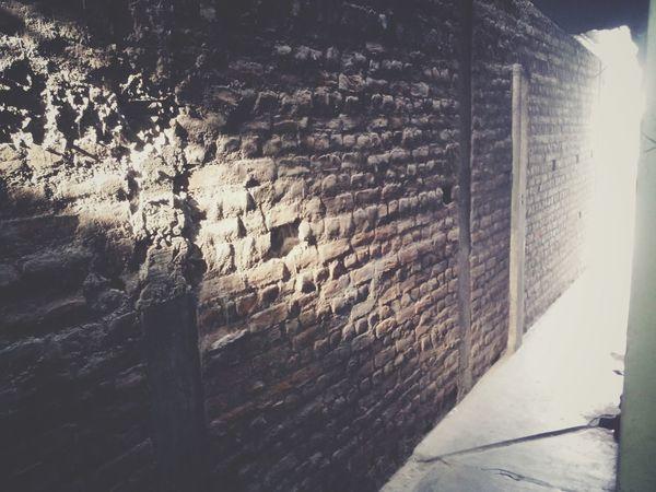 through the walls Brick EyeEm Best Shots VSCO Urban Geometry