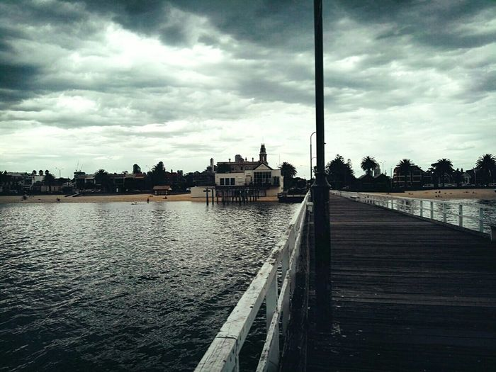Melbourne in Winter Beach Pier Southmelbourne Cold Love Photography