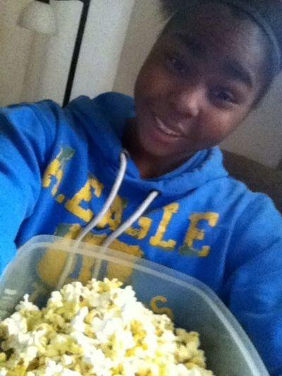Watchn Children Of The Corn And Eatn Popcorn