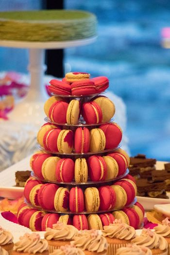Stack Of Multi Colored Macaroons