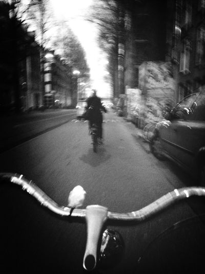 on my way ! Taking Photos Amsterdam Stree  t photography