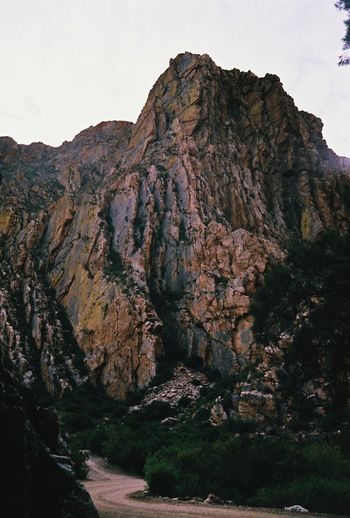 35mm 35mm Film Africa Cliff Day Geology Landscape Mountain Nature No People Openroad Outdoors Road Rock Rock Formation Rocky Rocky Mountains Travel Travel Destinations