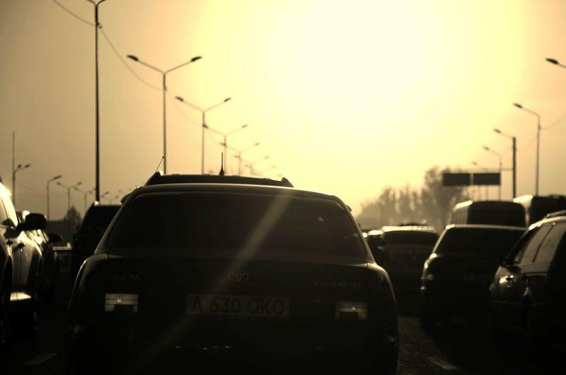Almaty, traffic jam... First Eyeem Photo