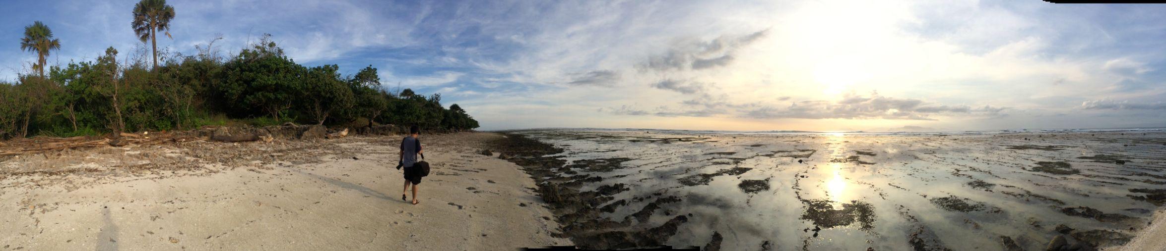 Island corner Sea Tranquil Scene Water Beach Tranquility Scenics Horizon Over Water Panoramic Sky Coastline Beauty In Nature Ocean Cloud Calm Idyllic Sand Shore Nature Sun Seascape Iphone5s