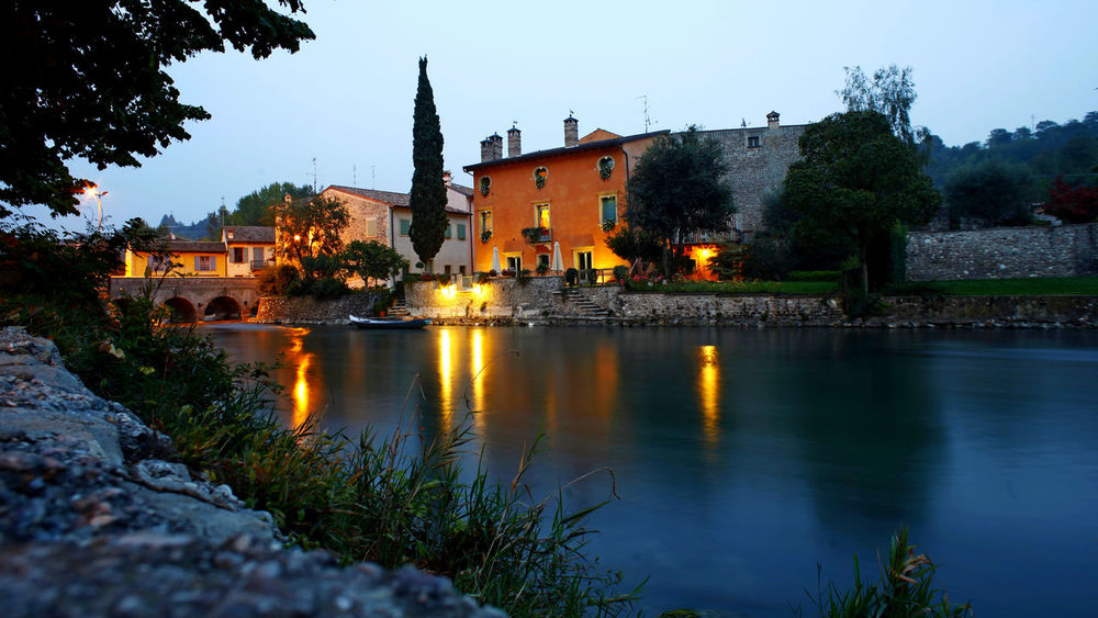Borghetto Sul Mincio Landscape_Collection Night Lights Night Scene Nightphotography Panorama Architecture Borgo Antico Building Exterior Built Structure Castle Clear Sky Day Landscape Landscape_photography Long Exposure Nature Night No People Outdoors River Sky Travel Destinations Tree Water