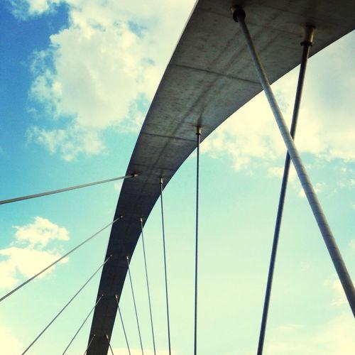 JK bridge, Brasília - Brasil Brazil Brasília Architecture Sky