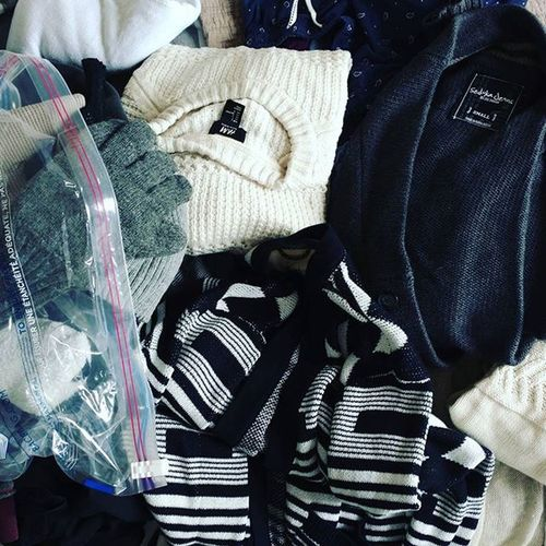 Dear October, I was expecting a little more of a light-jacket transition to fall, but I guess we'll just go ahead and break open that vacuum-sealed space bag of sweaters. Sweaterweather Unseasonablycool Releasethecardigan