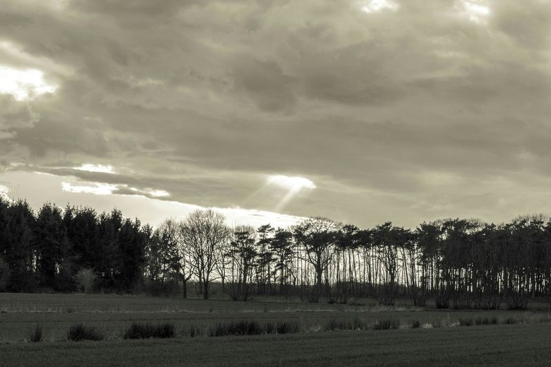 Landscape Monochrome Nature Clouds Hole In The Sky
