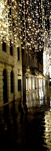 Venice , Italy Night Illuminated Architecture Built Structure No People Building Exterior Outdoors Water