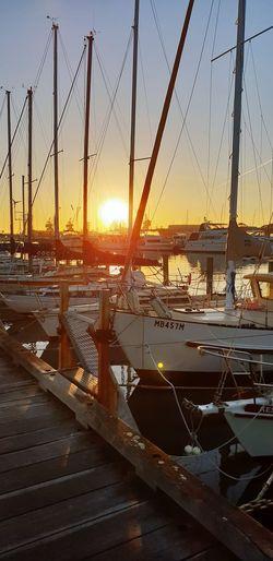 Sunrise City Shipyard Sunset