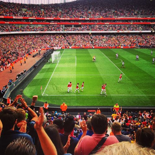Arsenal Goal Özil Emirates Emiratesstadium Celebrate London