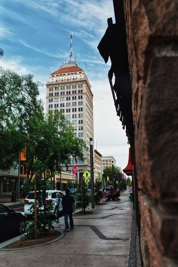 Downtown Fresno Pacific Southwest Building Fulton District Fulton Street City Sky Architecture Building Exterior Built Structure #urbanana: The Urban Playground